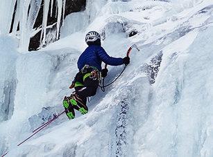 Curso escalada en hielo reyes