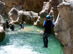 canyoning-guara