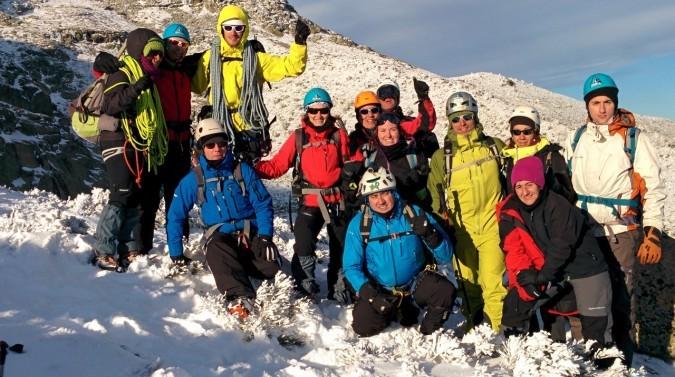 Curso iniciación al Alpinismo en Guadarrama