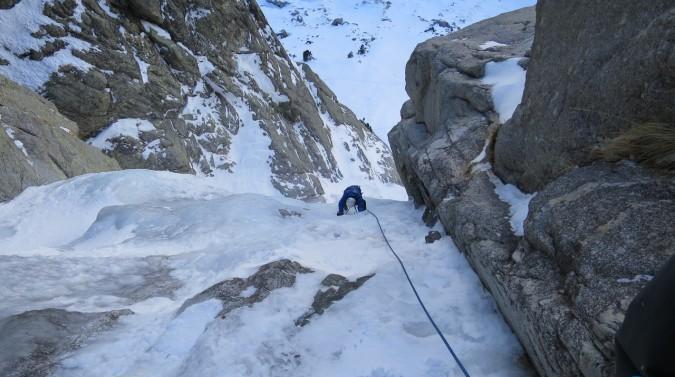 Escalada en hielo en Boí