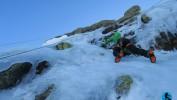 Curso escalada en hielo Guadarrama